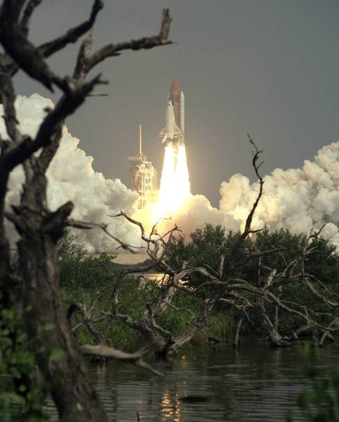 This week in 1997, space shuttle Discovery launched from NASA's Kennedy Space Center. (NASA)