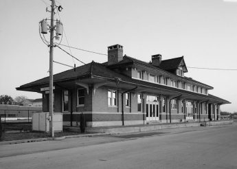 Southern Railway Depot, 1905 Alabama Avenue, Bessemer. (Library of Congress Prints and Photographs Division)