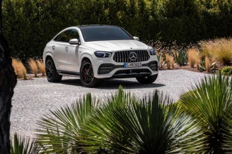 The Mercedes-AMG GLE 53 Coupe is built exclusively in Alabama. (Mercedes-Benz)