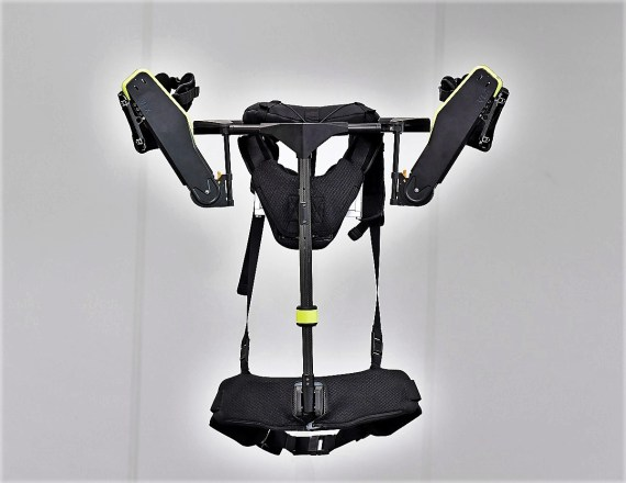 Workers at Hyundai Motor Manufacturing Alabama helped test wearable robot technology and will be among the first in the world to use the commercial version of the Vest EXoskeleton. (Hyundai Motor Group)