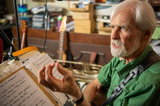 "Bobby Horton has his own music history as a member of Three on a String, but he is also a lover of history and has provided music for a number of documentaries produced by legendary filmmaker Ken Burns, including the upcoming ""Country Music."" (Phil Free / Alabama NewsCenter)"