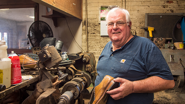 Family repairs shoes for nearly a century in Mobile