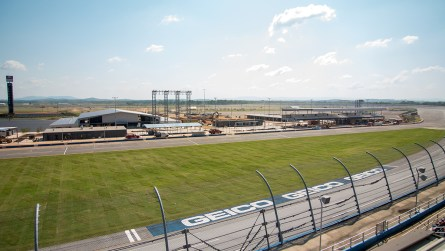 The Talladega Garage Experience is one of several new features available to fans at Talladega Superspeedway. (Dennis Washington / Alabama NewsCenter)