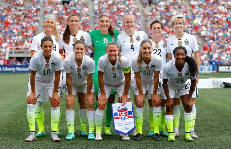 The United States of America poses for a team photo prior to facing Haiti at Legion Field on September 20, 2015 in Birmingham, Alabama. (Photo by Kevin C. Cox/Getty Images)