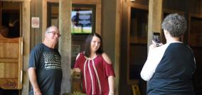 People come to Rattlesnake Solution for the food and the flavor. (Brittany Faush / Alabama NewsCenter)