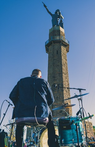 Hundreds across the Birmingham region will attend Vulcan AfterTunes and enjoy craft brews and sweet views along with everyone's favorite cast iron statue. (Contributed)
