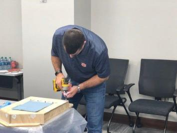 Alabama Power volunteers spent the past week building and painting bat houses to help protect and grow the state's bat populations. (contributed)