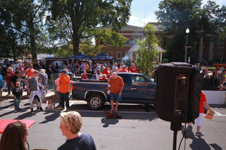 This festival offers something for everyone. (Scottsboro BBQ Cook-off)