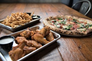 "Back Forty Beer Co. Birmingham executive chef Russ Bodner stops short of calling his cuisine ""elevated bar food,"" though that might be an apt description. (Brittany Dunn / Alabama NewsCenter)"