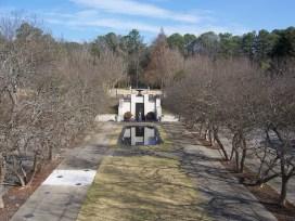 The Hill Garden at the Birmingham Botanical Gardens, 2009. (AuburnPilot, Wikipedia)