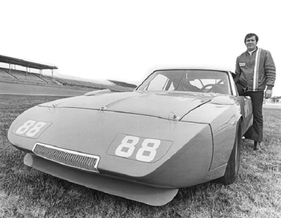 """""""Gentle Giant"""" Buddy Baker set a closed-course speed record at Talladega in 1970 and went on to win three straight races at the track in 1975-76. (Talladega Superspeedway)"""