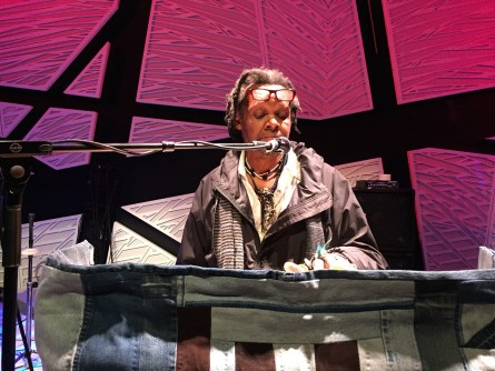 Lonnie Holley never expected to share his music with the world, but at 62 he began making records and has toured with artists such as Bon Iver. (Anne Kristoff/Alabama NewsCenter)