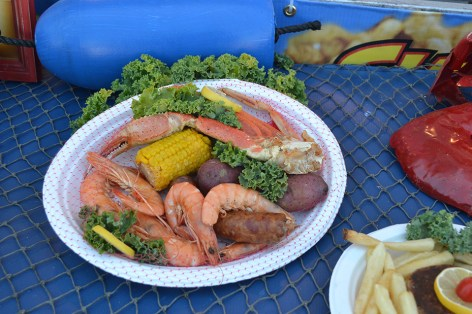 The popular festival will have 10,000 pounds of shrimp daily. (National Shrimp Festival)
