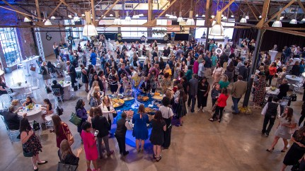"""The Women's Fund of Greater Birmingham held its """"Smart Party"""" fundraiser Thursday night at Haven in Birmingham. (Dennis Washington / Alabama NewsCenter)"""