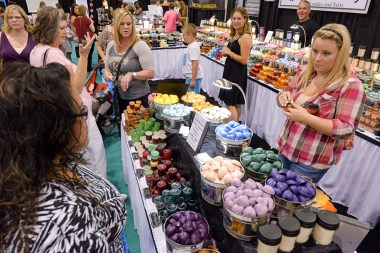 Shop more than 450 exhibits offering one-of-a-kind items, gourmet treats, latest fashion accessories and more. (contributed)
