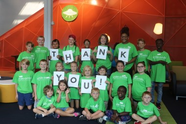 Summer 2019 campers at Smile-A-Mile express their gratitude for the experience. (contributed)
