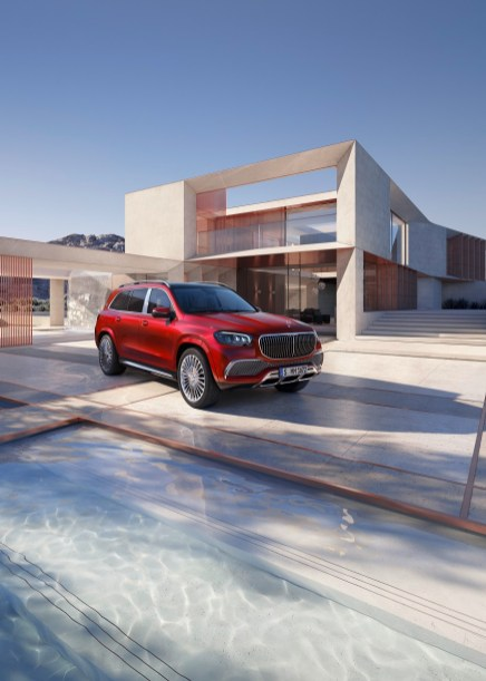 The 2021 Mercedes-Maybach GLS, built in Alabama. (Mercedes)