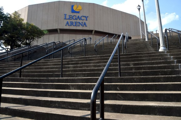 Legacy Arena at the Birmingham-Jefferson Convention Complex will close for renovations next spring. (Mark Almond/The Birmingham Times)