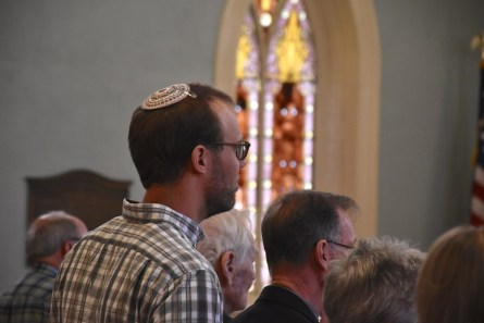 The Southside faith community's annual Community Thanksgiving Service began in the dark days after 9/11 and has brought people of different faiths together ever since. (Karim Shamsi-Basha/Alabama NewsCenter)