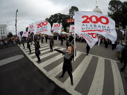 Alabama celebrates its 200th birthday on Saturday, Dec. 14, 2019, in Montgomery with a parade, festival and concert. The state also dedicated a new Bicentennial Park. (Governor's Office/Hal Yeager)