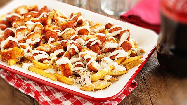Recipe: Buffalo Chicken Fries