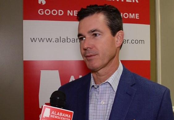 Patrick Murphy speaks to Alabama NewsCenter during a 2018 interview. (Michael Tomberlin / Alabama NewsCenter)