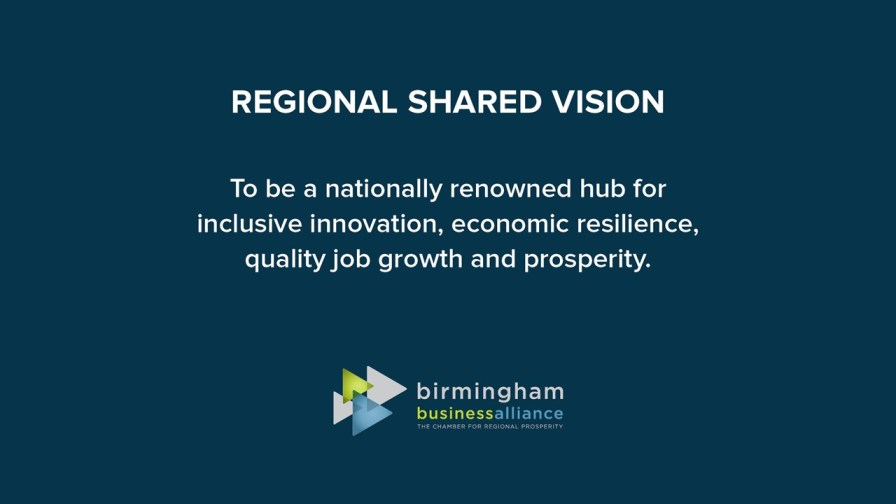 The BBA identified its regional shared vision. (BBA)