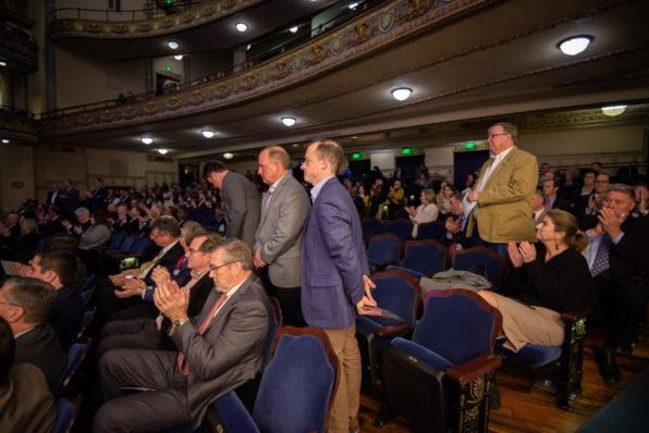 The BBA Chairwoman's Annual Meeting was held at the Lyric Theatre in downtown Birmingham. (BBA)