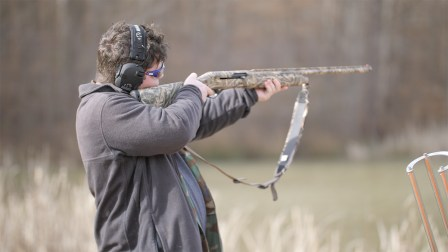 Beau Terry, 18, is one of the kids hunting in this year's classic. (Dennis Washington / Alabama NewsCenter)