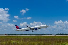 Delta airlines has already taken delivery of many Alabama-built Airbus jets. (Airbus)