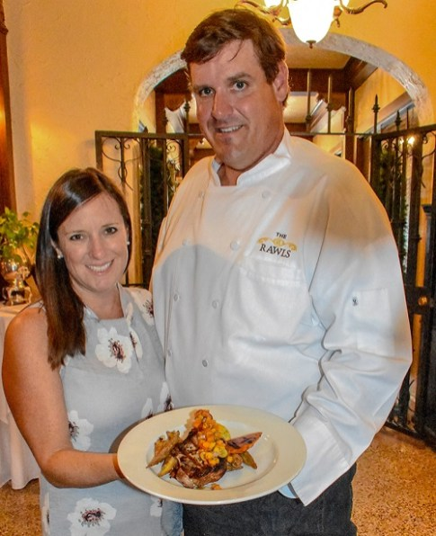 The Rawls Restaurant co-owners Daphne and Chef Bill Schleusner have created a standout among the Enterprise and Alabama dining scenes. (Emmett Burnett/Alabama Living)