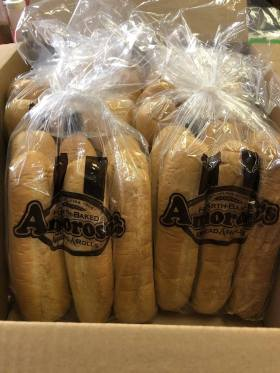 The rolls at T-Bone's come from Philadelphia's Amoroso's bakery. (Brittany Dunn/Alabama NewsCenter)