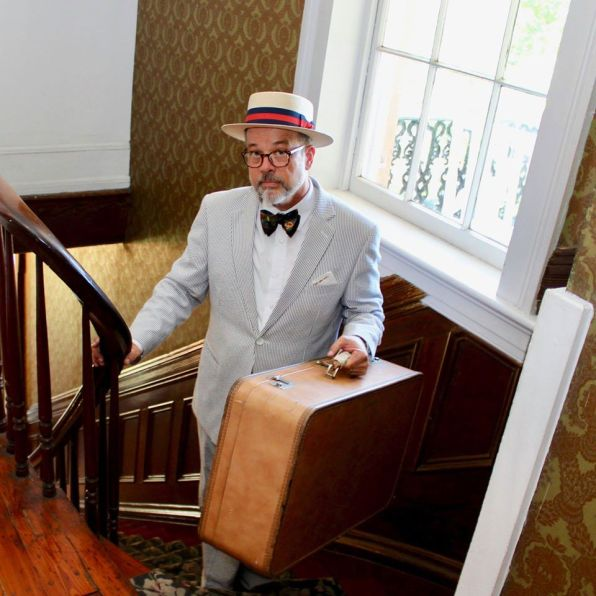 Todd Duren has a trunkful of tales about Mobile's rich 315-year history. (Secret History Tours)