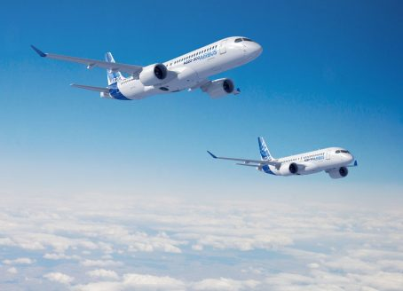 Airbus plans to produce the A220 later this year at a new assembly plant it is building in Mobile.