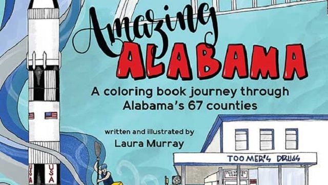 Keep kids busy, learning with free coloring book pages from Amazing Alabama