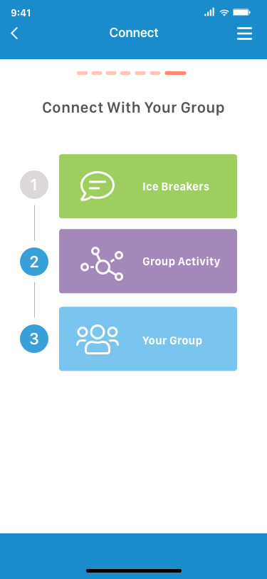 Virtual Mixtroz works like it's in-person counterpart to organize meetings and events. (Mixtroz)