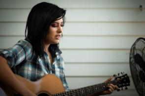 "Jessica Meuse is an Alabama Music Maker enjoying her post-""American Idol"" journey. (Phil Free / Alabama NewsCenter)"