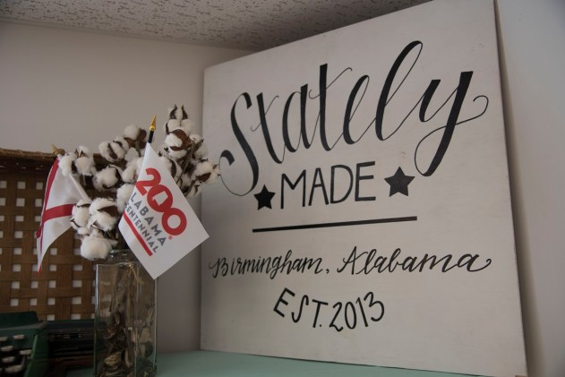 Stately Made is based in Alabama but strives to capture the culture of each state, often through its food. (Brittany Dunn/Alabama NewsCenter)