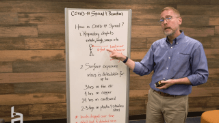HudsonAlpha COVID-19 series: Spread and prevention