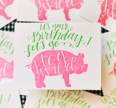 Stately Made's products include a line of friendly cards with a Southern flavor. (Brittany Dunn/Alabama NewsCenter)