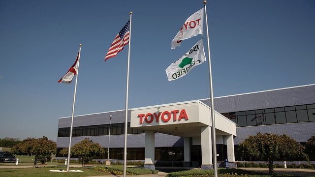 Toyota halts production at Alabama engine plant in response to pandemic