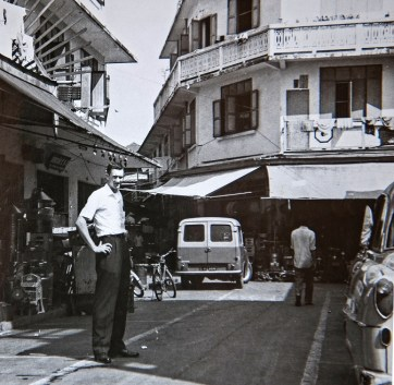 Buford Lee in Saigon during the Vietnam War. (contributed)