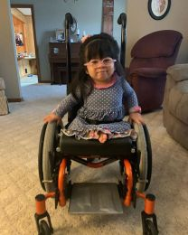 Ava Joye Hays is enjoying a full life at her McCalla home despite numerous physical challenges. (Courtesy of Jennifer Hays)