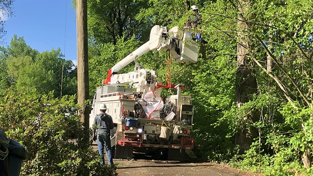 Alabama Power making significant progress in restoring service
