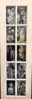 Birmingham photographer George Elliott repurposes old windows and doors to frame his art. (George B. Elliott Photography)