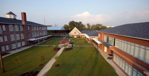 Main campus of the Jimmie Hale Mission. (Image courtesy of the Jimmie Hale Mission)