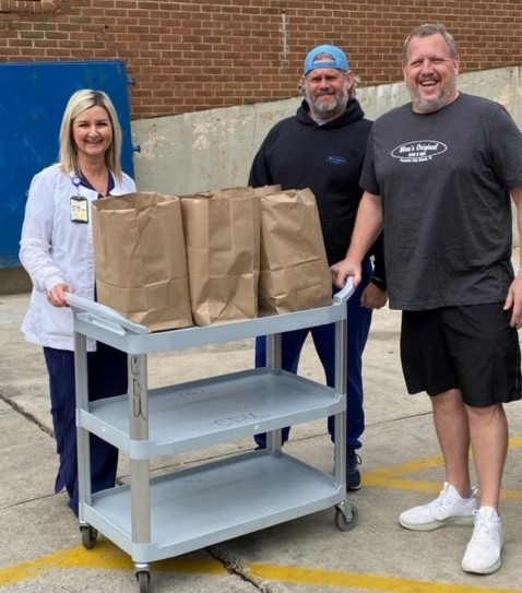 Meals for Healthcare Workers lets hospital units request meals, finds restaurants to provide them and then pays with donations. (contributed)