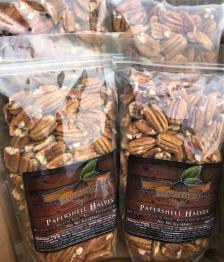 Pecans for sale at the Irondale Farm Stand. (Bradleigh Turnipseed Pfitzer)