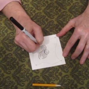 Try the 'Zentangle' class to make amazing designs. (UAB)