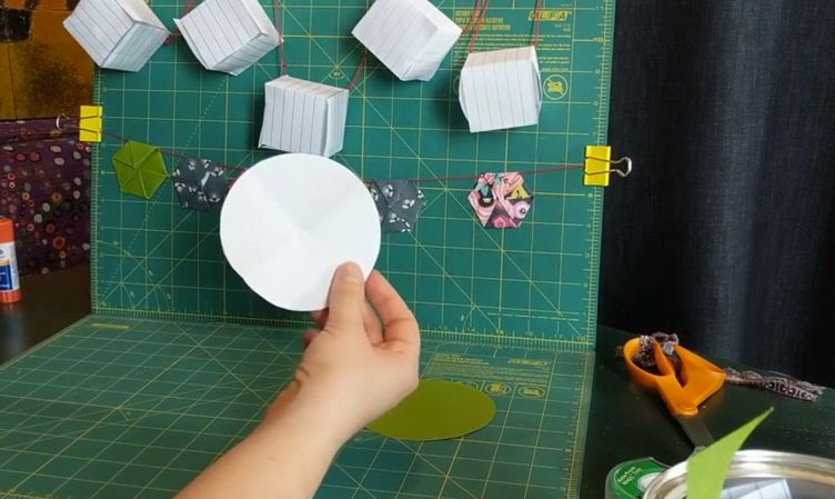 The 'Paper Hexagons' class will intrigue kids and adults. Learn to make tiny packages for gift-giving. (UAB)
